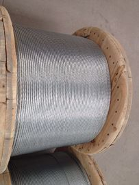 अच्छी गुणवत्ता स्टील वायर केबल & ASTM A 475 Galvanized Stranded Steel Wire For Overhead Fiber Optic Cable बिक्री पर