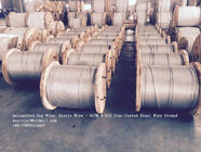 चीन ASTM A 475 Galvanized Guy Wire / Steel Cable Wire With Excellent Anti Rust Performance फैक्टरी